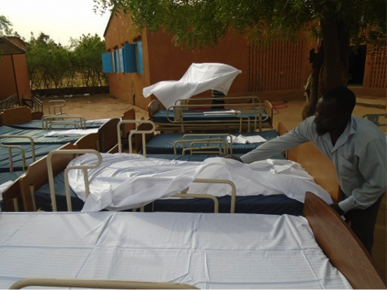 Hospital Beds donated by Superior Medical