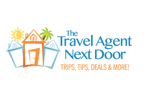 The Travel Agent Next Door logo