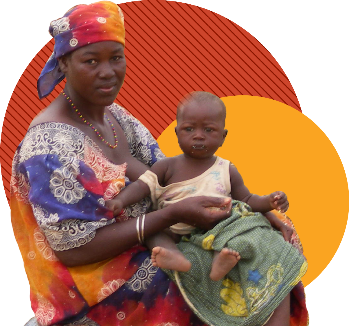 Niger mother and child